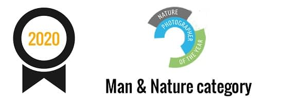 Nature Photographer Of The Year | Man & Nature category (2020)